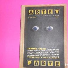Coleccionismo de Revistas y Periódicos: REVISTA ARTE Y PARTE, NÚMERO 9, ED. ARTE Y PARTE. Lote 273972653
