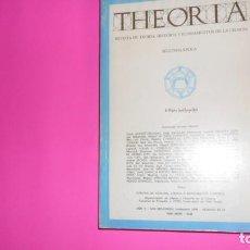 Coleccionismo de Revistas y Periódicos: THEORIA, REVISTA DE TEORÍA, HISTORIA Y FUNDAMENTOS DE LA CIENCIA, NÚMERO 12-13, 1990. Lote 273976513