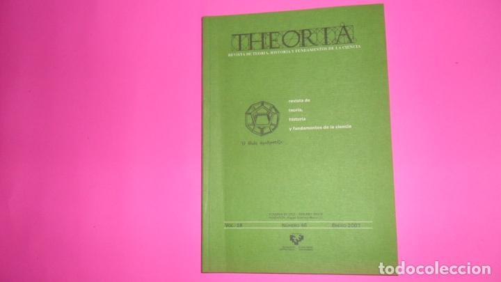 THEORIA, REVISTA DE TEORÍA, HISTORIA Y FUNDAMENTOS DE LA CIENCIA, VOL. 18, NÚMERO 46, 2003 (Coleccionismo - Revistas y Periódicos Modernos (a partir de 1.940) - Otros)