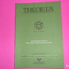 Coleccionismo de Revistas y Periódicos: THEORIA, REVISTA DE TEORÍA, HISTORIA Y FUNDAMENTOS DE LA CIENCIA, ÍNDICES ACUMULATIVOS 21-50. Lote 273977823