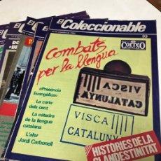Coleccionismo de Revistas y Periódicos: EL COLECCIONABLE. EL CORREO CATALAN.. Lote 274025358