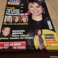 Coleccionismo de Revistas y Periódicos: TELEINDISCRETA 1995 RAFFAELLA CARRÁ ISABEL GENIO CARMINA ORDOÑEZ. Lote 274031653