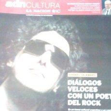 Coleccionismo de Revistas y Periódicos: REVISTA ADN CULTURA SEPT 2008 ANDRES CALAMARO G STEINER ED. 2008. Lote 274044438