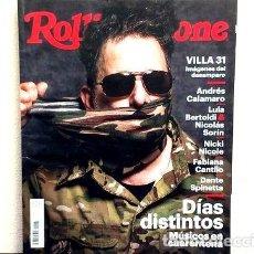 Coleccionismo de Revistas y Periódicos: REVISTA ROLLING STONE 267 ANDRES CALAMARO BAD BUNNY ED. 2020. Lote 274063903
