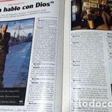 Coleccionismo de Revistas y Periódicos: NOTICIAS 1167 KIKO VENENO CANTO CON ANDRES CALAMARO 1999. Lote 274086833