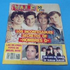 """Coleccionismo de Revistas y Periódicos: REVISTA - NUEVO VALE - NÚMERO 360 - LOS INCONFESABLES SECRETOS DE """"HOMBRES G"""". Lote 274352333"""
