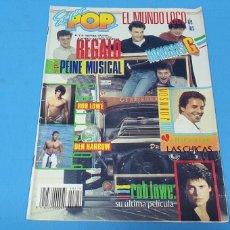 Coleccionismo de Revistas y Periódicos: REVISTA - SUPER POP - NÚMERO 219 - EL MUNDO LOCO DE LOS HOMBRES G - REGALO NO INCLUIDO. Lote 274542078