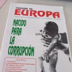 Colecionismo de Revistas e Jornais: REVISTA TRIBUNA DE EUROPA, NÚM. 8 1ª ÉPOCA, ENERO 1995 EDITA ALTERNATIVA EUROPEA. REF UR EST. Lote 275037383