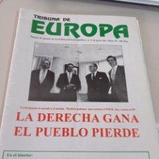 Colecionismo de Revistas e Jornais: REVISTA TRIBUNA DE EUROPA, NÚM. 5 2ª ÉPOCA, ABRIL 1996 EDITA ALTERNATIVA EUROPEA. REF UR EST. Lote 275038033