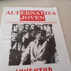 Colecionismo de Revistas e Jornais: ALTERNATIVA JOVEN, ALTERNATIVA EUROPEA,NACIONAL REVOLUCIONARIA, NUMERO 5 REF. UR EST. Lote 275536393