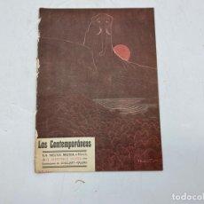 Coleccionismo de Revistas y Periódicos: LOS CONTEMPORÁNEOS. LA SELVA MUDA. G. MARTÍNEZ SIERRA. AÑO I. MAYO DE 1909. Nº 19. Lote 275699688