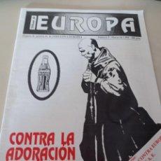 Colecionismo de Revistas e Jornais: REVISTA TRIBUNA DE EUROPA, NÚM. 5 MARZO DE 1994 EDITA ALTERNATIVA EUROPEA. REF. UR EST. Lote 275715188