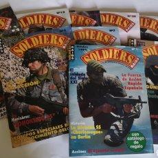 Coleccionismo de Revistas y Periódicos: REVISTAS SOLDIERS RAIDS - N° 1 INCLUIDO REVISTAS MILITAR ESPAÑA SOLDADOS. Lote 275783618