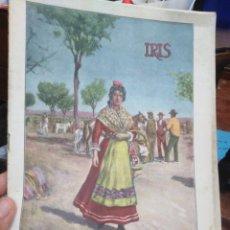 Collectionnisme de Revues et Journaux: IRIS/REVISTA SEMANAL ILUSTRADA-N°111-22 JUNIO 1901. Lote 275989833
