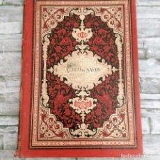 Collectionnisme de Revues et Journaux: ALBUM DE SALON CON GRABADOS DE GRAN TAMAÑO AÑO 1883. Lote 276073528