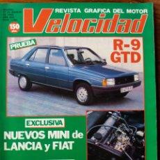Coleccionismo de Revistas y Periódicos: REVISTA DEL MOTOR VELOCIDAD. Lote 276131473