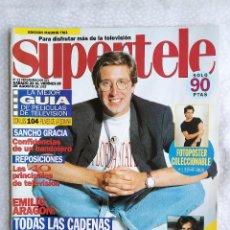 Coleccionismo de Revistas y Periódicos: REVISTA SUPERTELE 23 EMILIO ARAGON NORMA DUVAL ABIGAIL CARLOS MATA MAGIC JOHNSON ROCIO JURADO +. Lote 276160958