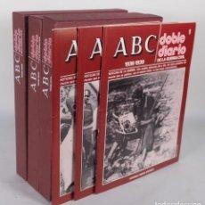 Coleccionismo de Revistas y Periódicos: ABC DOBLE DIARIO DE LA GUERRA CIVIL 1936-1939 EDITORIAL PRENSA ESPAÑOLA DEL NUMERO 1 AL 30. Lote 276406268