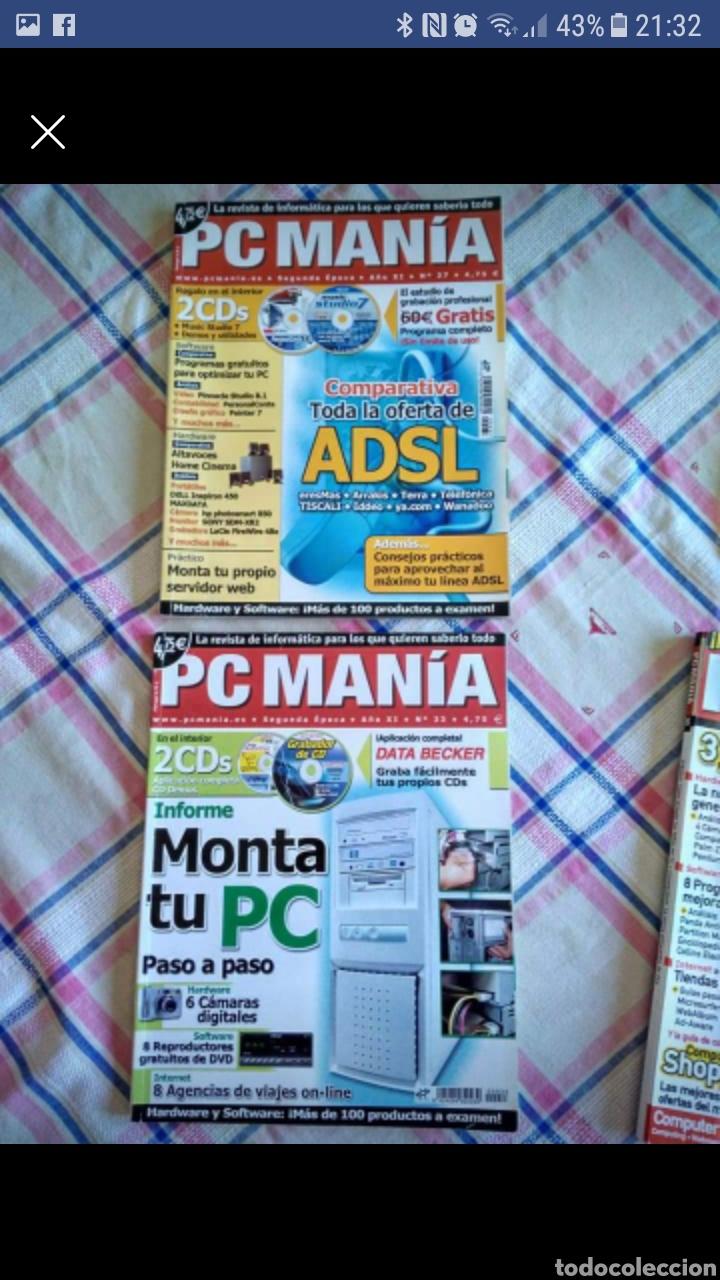 Coleccionismo de Revistas y Periódicos: PC MANIA.5 REVISTAS - Foto 2 - 276497818