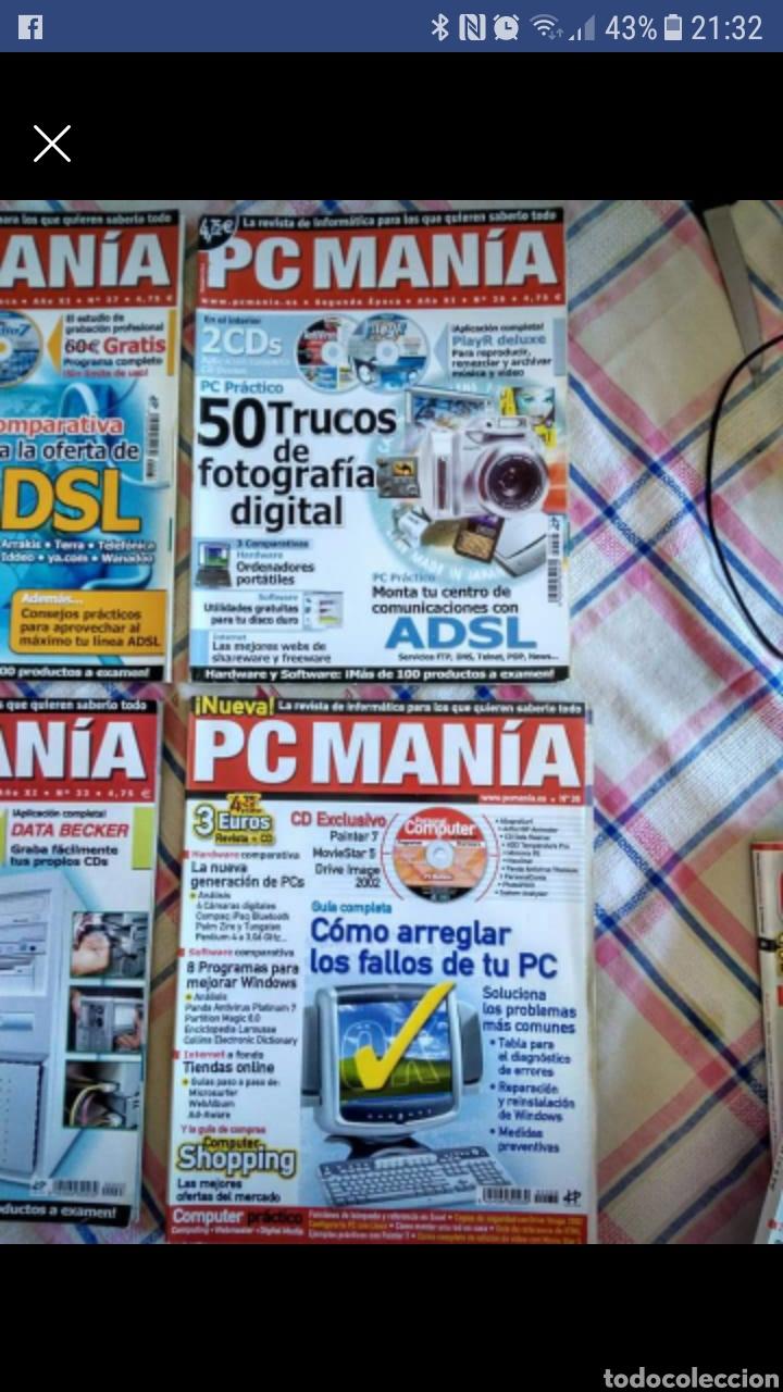 PC MANIA.5 REVISTAS (Coleccionismo - Revistas y Periódicos Modernos (a partir de 1.940) - Otros)