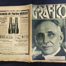 Coleccionismo de Revistas y Periódicos: 21 REVISTAS - MUNDO GRAFICO - AÑOS 1930 1931 -VER DESCRIPCION. Lote 276609078
