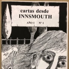 Coleccionismo de Revistas y Periódicos: CARTAS DESDE INNSMOUTH N° 1 (MADRID 1996). FANZINE DE LA OSCURIDAD. VV.AA. ORIGINAL.. Lote 276707193