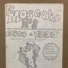 Coleccionismo de Revistas y Periódicos: EL MOSQUITO N° 8 (VITORIA 1983). HISTÓRICO FANZINE ORIGINAL CREADO POR JOSEBA FIESTRAS. Lote 276710923