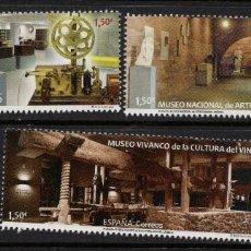 Coleccionismo de Revistas y Periódicos: ESPAÑA 5466/68** - AÑO 2021 - MUSEOS ESPAÑOLES. Lote 276740708