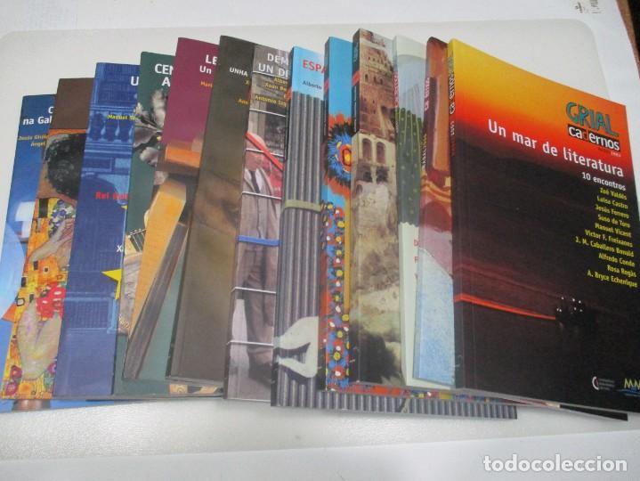 GRIAL (10 TOMOS DE REVISTA + 3 TOMOS DE CADERNOS) (GALLEGO Y CASTELLANO) W8176 (Coleccionismo - Revistas y Periódicos Modernos (a partir de 1.940) - Otros)