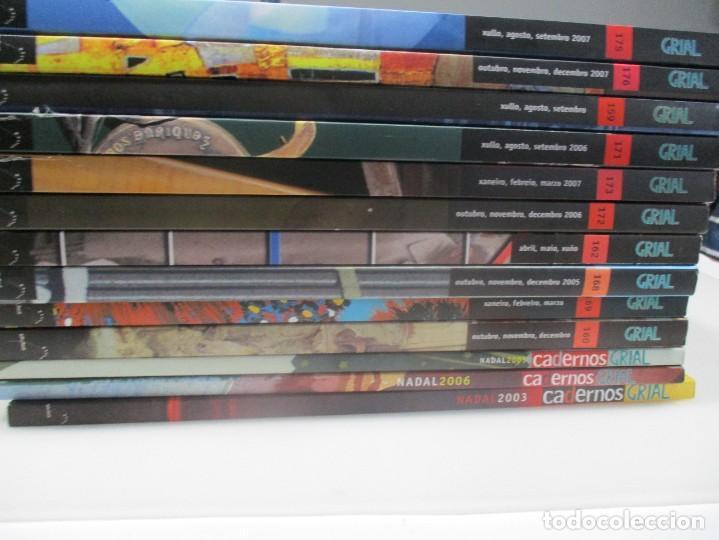 Coleccionismo de Revistas y Periódicos: GRIAL (10 tomos de revista + 3 tomos de cadernos) (gallego y castellano) W8176 - Foto 2 - 276791578