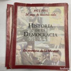 Coleccionismo de Revistas y Periódicos: HISTORIA DE LA DEMOCRACIA. 20 AÑOS DE NUESTRA VIDA 1975-1995. 49 FASCÍCULOS. EL MUNDO. COMPLETO.VER. Lote 276798598