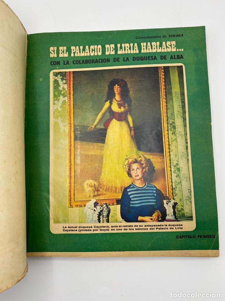 Coleccionismo de Revistas y Periódicos: SEMANA. SI EL PALACIO DE LIRIA HABLASE... COLABORACION DE LA DUQUESA DE ALBA. COMPLETO. PAGS: 400 - Foto 5 - 276800713