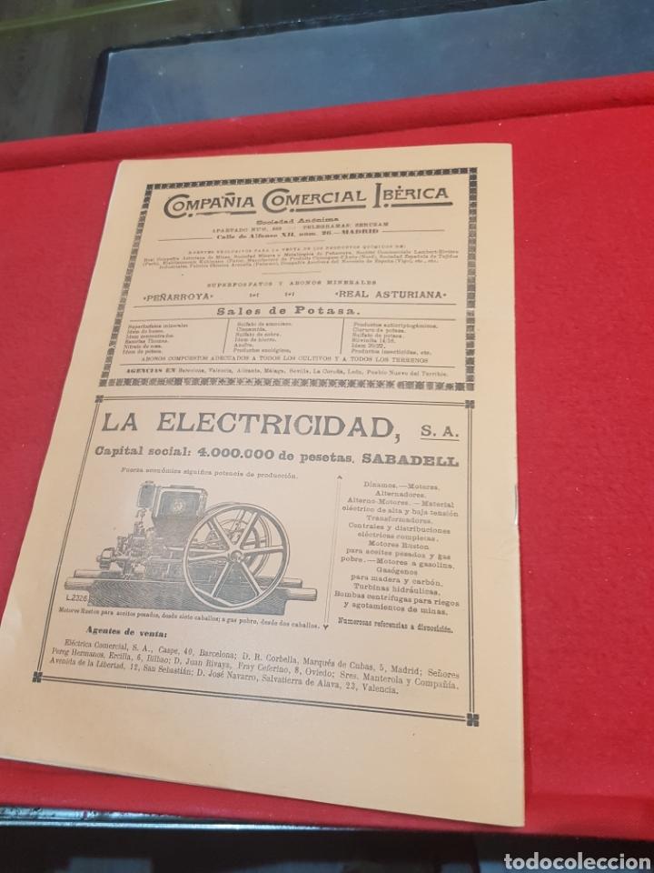 Coleccionismo de Revistas y Periódicos: Periódico agrícola y pecuario Madrid 1926 fotografías artículo Albufera Valencia ley de vino - Foto 6 - 276801163