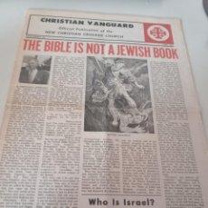 Coleccionismo de Revistas y Periódicos: PERIODICO CHRISTIAN VANGUARD Nº 10, JUNIO DE 1972 REF. UR MES. Lote 276940068
