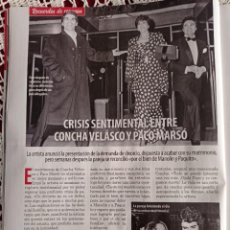 Coleccionismo de Revistas y Periódicos: CONCHA VELASCO. Lote 276987913