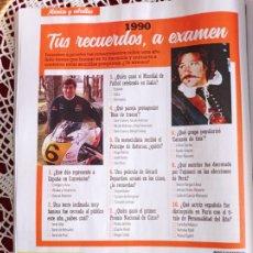 Coleccionismo de Revistas y Periódicos: GERARD DEPARDIEU SITO PONS. Lote 277038648