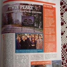 Coleccionismo de Revistas y Periódicos: CLIPPING TWIN PEAKS. Lote 277038713
