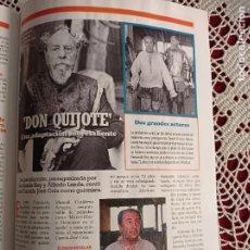 Coleccionismo de Revistas y Periódicos: FERNANDO REY ALFREDO LANDA DON QUIJOTE. Lote 277039253
