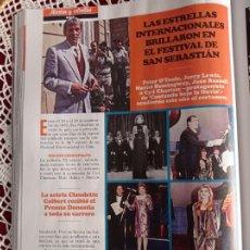 Coleccionismo de Revistas y Periódicos: CLAUDETTE COLBERT JERRY LEWIS MARIEL HEMINGWAY PETER OTOOLE DYD CHARISSSE. Lote 277040268
