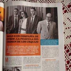 Coleccionismo de Revistas y Periódicos: SOLO O EN COMPAÑIA DE OTROS EL CRIMEN DE LOS URQUIJO. Lote 277040938