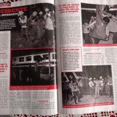 Coleccionismo de Revistas y Periódicos: ACCIDENTE FERROVIARIO INTRCITY ZARAGOZA MADRID. Lote 277041073