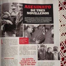 Coleccionismo de Revistas y Periódicos: CHARCO LENTISCO ASESINATO DE TRES NOVILLEROS. Lote 277041238