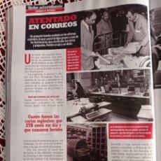 Coleccionismo de Revistas y Periódicos: ATENTADO EN CORREOS. Lote 277041288