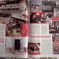Coleccionismo de Revistas y Periódicos: LA MATANZA DE PUERTO HURRACO. Lote 277041323