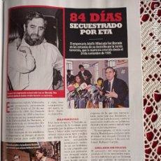 Coleccionismo de Revistas y Periódicos: ADOLFO VILLOSLADO SECUESTRO. Lote 277041493