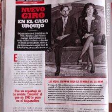 Coleccionismo de Revistas y Periódicos: MYRIAN JUAN DE LA SIERRA EL ASESINATO DE LOS URQUIJO. Lote 277041548