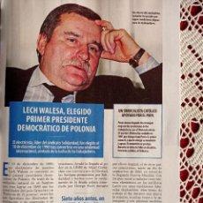 Coleccionismo de Revistas y Periódicos: LECH WALESA. Lote 277041903