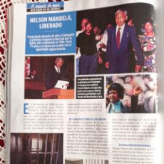 Coleccionismo de Revistas y Periódicos: NELSON MANDELA. Lote 277042053