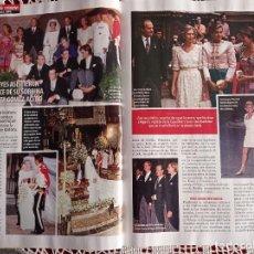 Coleccionismo de Revistas y Periódicos: SIMONETA GOMEZ ACEBO LA BODA FAMILIA REAL DOÑA SOFIA. Lote 277043078