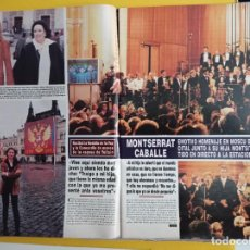 Coleccionismo de Revistas y Periódicos: MONTSERRAT CABALLE EN RUSIA. Lote 277043973